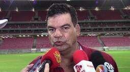Moacir Júnior comenta derrota do América-RN para o América-PE