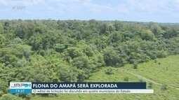 Edital de exploração da Flona Amapá é discutido em quatro municípios