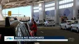 Câmeras instaladas pela SMT no aeroporto de Goiânia já auxiliam para multar motoristas