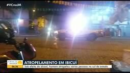 Motorista é preso por atropelar pedestres na BA-130, entre Ibicuí e Iguaí