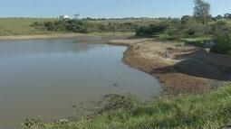 Estiagem afeta represa que abastece zona leste de Marília