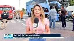 Acidente grave em Horizonte deixa 2 pessoas mortas