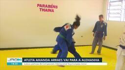 Judoca de Rondônia se prepara para competição na europa