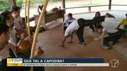 Capoeira faz bem para o corpo e para a mente; veja