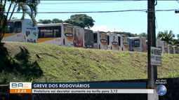 Greve dos rodoviários alcança sétimo dia em Itabuna e prefeitura acata aumento de tarifa