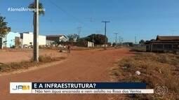 Moradores reclamam da falta de asfalto em bairro de Aparecida de Goiânia