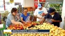 Abastecimento de supermercados é afetado por paralisação da Ceasa