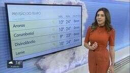 Confira a previsão do tempo para o fim de semana na região