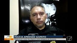 Suspeito de disparar tiros contra a delegacia em Oriximiná é apreendido