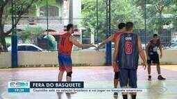 Capixaba Didi Louzada está na seleção brasileira e vai jogar no basquete americano