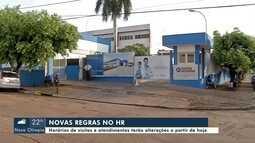 Hospital Regional de Rondonópolis tem novas regras para atendimentos e visitas