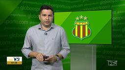 Sampaio Corrêa realiza último treino antes de partida contra o ABC