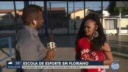 População quer escola de esporte funcionando todos os dias em Floriano