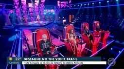 Cuiabana está no time de Ivete Sangalo no The Voice Brasil