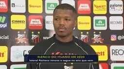 Ituano anuncia renovação do contrato do lateral Pacheco