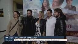 Alê Machado e Flávia Alessandra vêm a Santos para lançamento do filme O Amor dá Trabalho