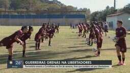 Guerreiras Grenás encaram o Corinthians neste fim de semana