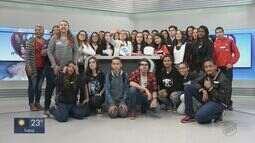 EPTV na Escola recebe alunos de Santa Rita do Passa Quatro