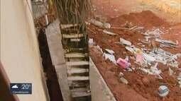 Prefeitura embarga obra próxima a casa que desabou em Pouso Alegre, MG