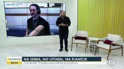 Time da Inter TV recebe jovens talentos do jornalismo
