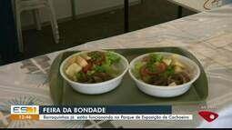 Feira da Bondade: barraquinhas já estão funcionando no Parque de Exposições de Cachoeiro