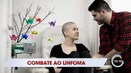Esta semana é a semana de conscientização contra o linfoma