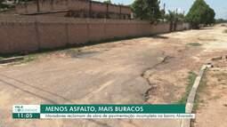 Fala Comunidade: falta pavimentação em bairro de Boa Vista
