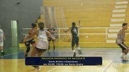 Catanduva conhece adversários no início do Campeonato Paulista de basquete feminino