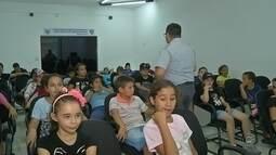 Polícia Rodoviária promove ações educativas com crianças na região de Itapetininga