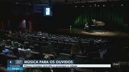 Com espetáculos gratuitos, Festival Pianístico segue até domingo (22) em Joinville