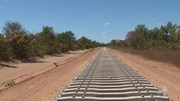 Avança: obra da ferrovia Oeste-Leste movimenta a economia do oeste baiano