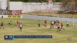 Pouso Alegre vence Atlético TC por 1 a 0 e abre vantagem na semifinal da Segundona