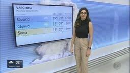 Confira a previsão do tempo para esta quarta-feira no Sul de Minas