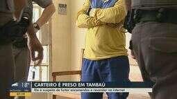 Carteiro é preso em Tambaú suspeito de furtar encomendas e revender na internet