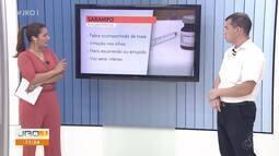 Rodrigo Almeida, médico, fala sobre a importância da vacinação contra o sarampo