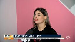 Família vítima de violência ganha reforma realizada por projeto social em Fortaleza