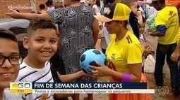 Veja como foram as comemorações do Dia das Crianças em Goiânia