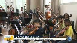 Neojiba apresenta concertos gratuitos para comemorar o aniversário de 12 anos de fundação