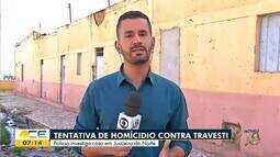 Polícia investiga tentativa de homicídio contra travesti