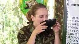 'Revista' foi para a selva e mostrou treinamento de sobrevivência - Parte 1