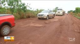 Caminhoneiros reclamam do custo de manutenção das carretas no Maranhão
