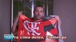 Torcida do Flamengo canta música de Kiko Zambianchi nas arquibancadas