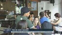 Empresas deixam de contratar festas de confraternização em São Carlos