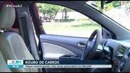 Roubo de carros preocupa em Marabá, no sudeste do PA