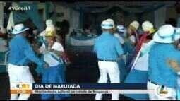 Manifestação cultural da Marujada toma conta da cidade de Bragança
