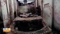 Defesa Civil vai a local de incêndio em Rio Largo