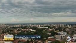 Confira a previsão do tempo para segunda-feira (20) em Ribeirão Preto