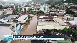 Bom Jesus do Norte, no Sul do ES, decreta situação de emergência