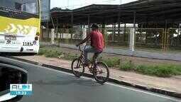 Aumenta o número de acidentes com ciclistas em Alagoas