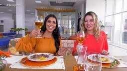 Onélia Santana fala sobre trabalho e prepara delícia culinária em papo com Niara Meireles